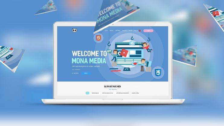 Công ty thiết kế web BDS Mona Media