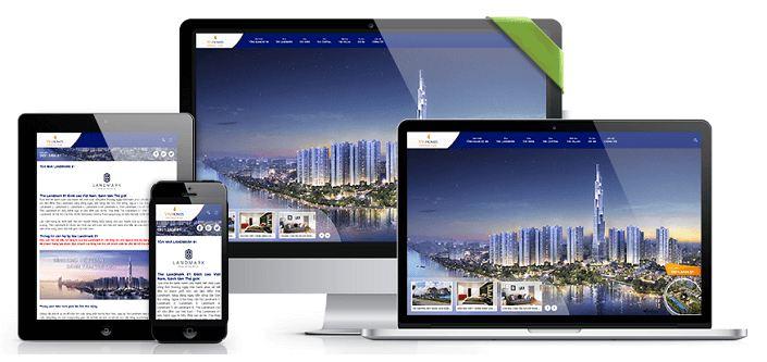 Vì sao cần thiết kế website bất động sản