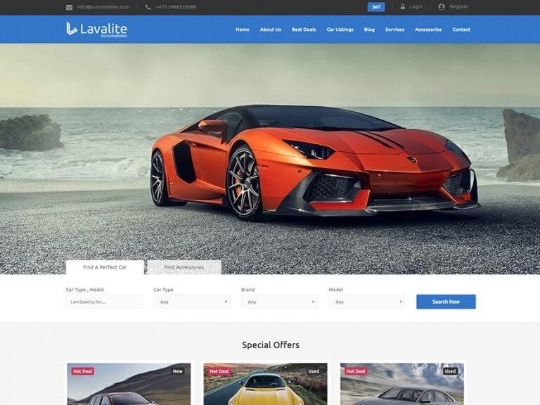 Thiết kế website ô tô mang lại những giá trị cao cho nhà kinh doanh