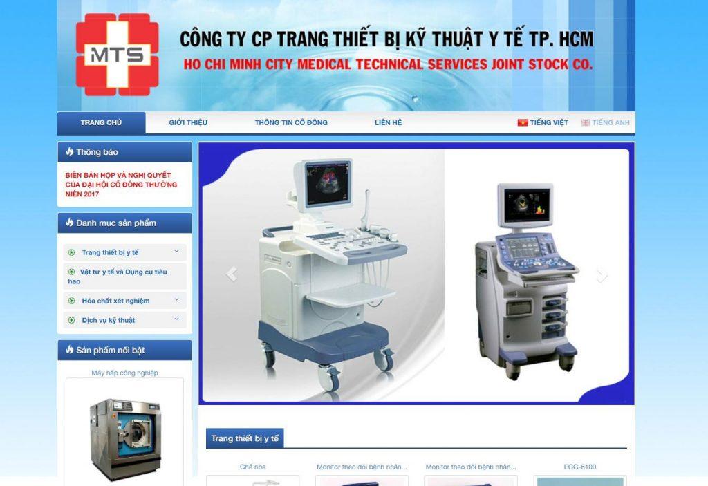 Công ty CP trang thiết bị kỹ thuật y tế TP.HCM