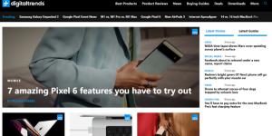 thiết kế web tin tức đẹp