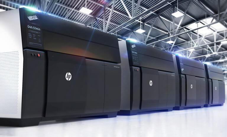 Dòng máy photocopy của HP với công suất lớn, in khổ to