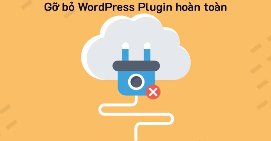 Xóa các plugins không cần thiết